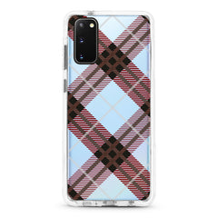 Samsung Ultra-Aseismic Case - Brown Plaid