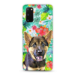 Samsung Aseismic Case - Wild Tropical Forest in Watercolor