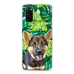 Samsung Aseismic Case - Green Palm Tree