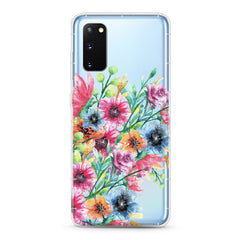 Samsung Aseismic Case - Water Paint Floral