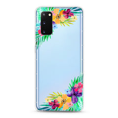 Samsung Aseismic Case - Spring Water Paint Floral
