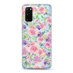 Samsung Aseismic Case - Rose in Pink & Purple