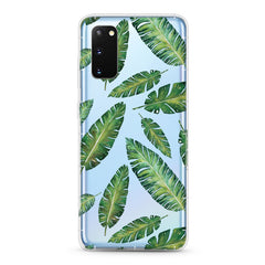 Samsung Aseismic Case - Leaves Pattern Design