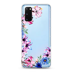 Samsung Aseismic Case - Hand Paint Floral