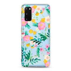 Samsung Aseismic Case - Pink Yellow Floral