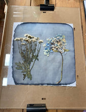 Cyanotype/sun printing 10-11.45am, April 7, 2021