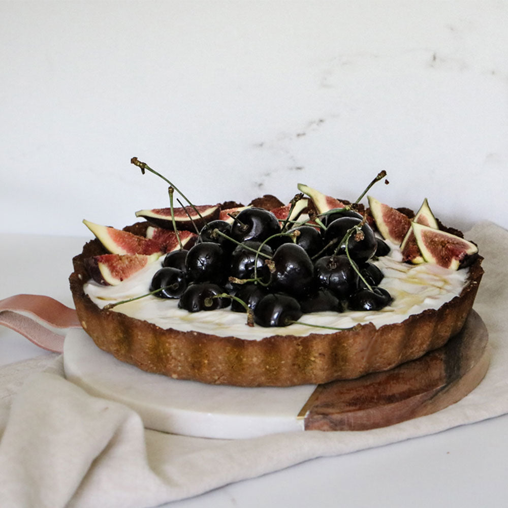 Fig and Buckwheat Tart
