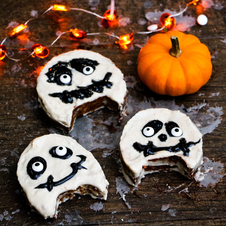 Halloween Coconut Cookies