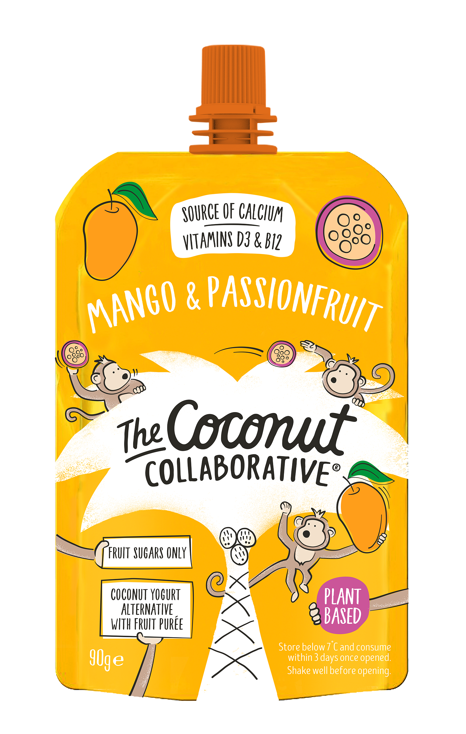 Kids Mango and Passionfruit