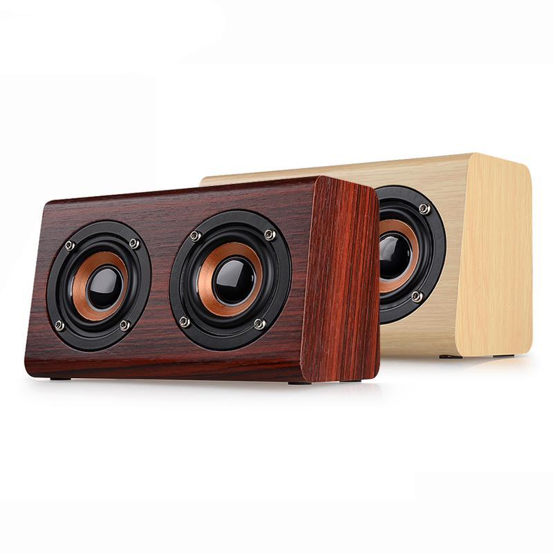 Retro Wooden Bluetooth Wireless Speaker