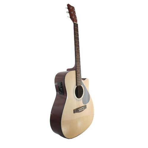 Marquez MD200-EC 4/4 Steel String Electric Acoustic Guitar