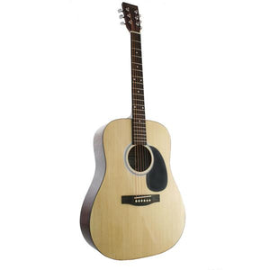 Marquez MD100-NAT Full Size Steel String Acoustic Guitar - Natural