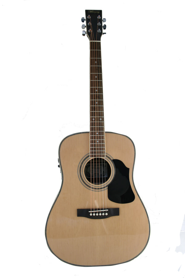 Condition        Brand newnbsp        Auction includes        Marquez MD400SEC electric acoustic steel string full size guitar    Deluxe gigbag with carry handle pockets and backpack