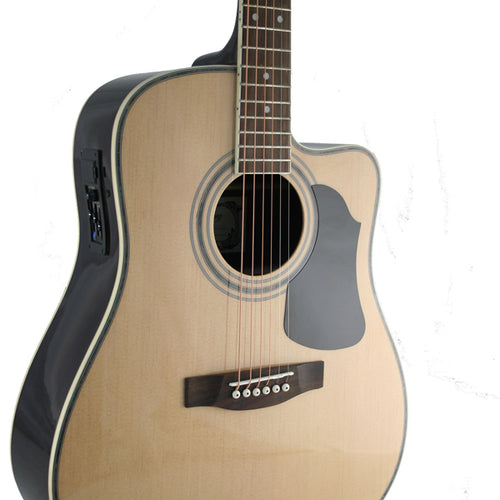 Condition        Brand newnbsp        Auction includes        Marquez MD400SCEC cutaway electric acoustic steel string full size guitar    Deluxe gigbag with carry handle pockets and backpack