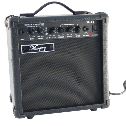 Marquez 15w Premium Guitar Amplifier with Overdrive