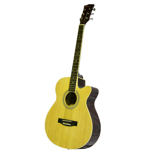 Marquez MD150A Electric Acoustic Steel String Guitar, Natural