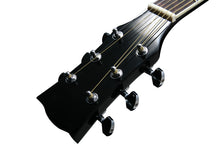 MD150A Electric Acoustic Size Steel String Acoustic Guitar - Black