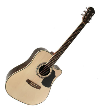 Marquez MD400-SC Solid Top Cutaway Steel String Acoustic Guitar