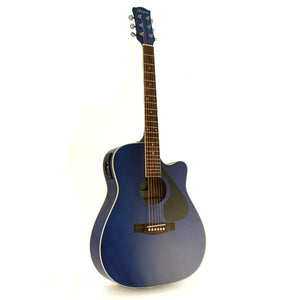 Marquez MD150-EC Full Size Steel String Electric Acoustic Guitar - BLUE
