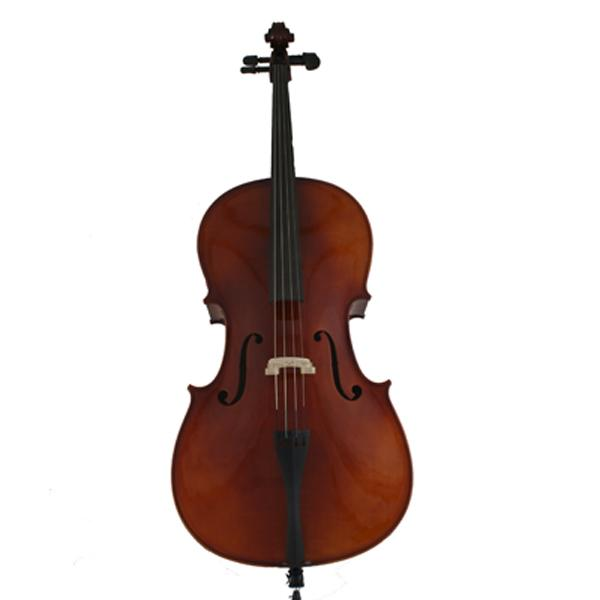 Marquez MCE200-1 Hand Made 1/4 Solid Spruce and Maple Cello with Bag