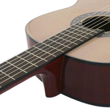MC300 Natural Acoustic Guitar + Hard Case