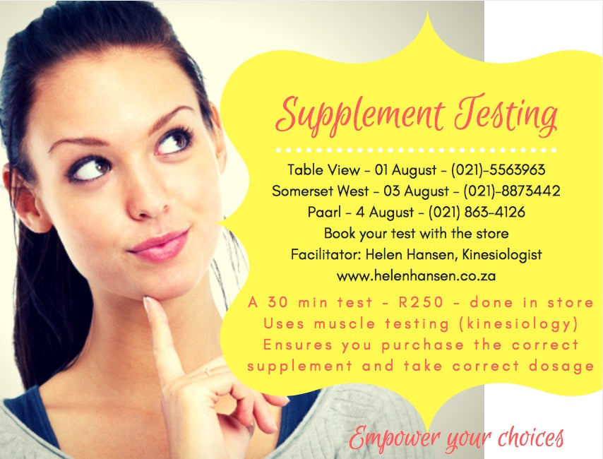 Supplement Testing