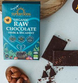 Organic Raw Chocolate Dark & Decadent 50g [Superfoods]