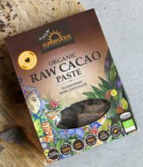 Organic Cacao Paste 200g [Superfoods]