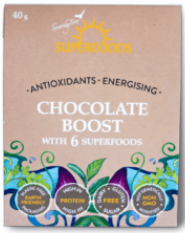 Chocolate Boost 40g [Superfoods]
