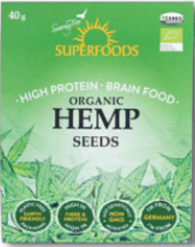 Organic Hemp Seeds 200g [Superfoods]
