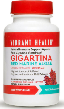 Gigartina Red Marine Algae 120Caps [Vibrant Health]