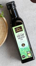 Organic Hemp Seed Oil 250ml [Superfoods]