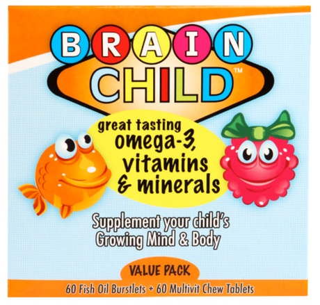 Omega 3 Value Pack [Brain Child]