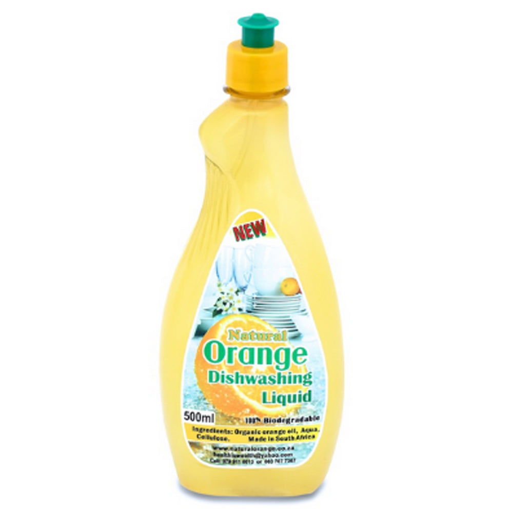 Dish Washing Liquid 500 ml [Natural Orange]