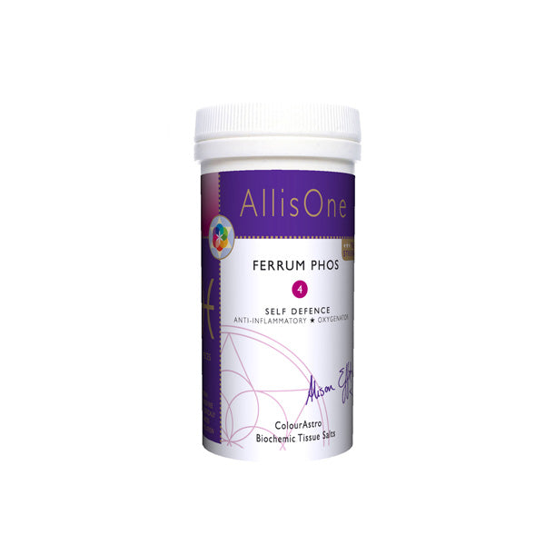 Ferrum Phos No.4 60 caps [AllisOne Tissue Salts]