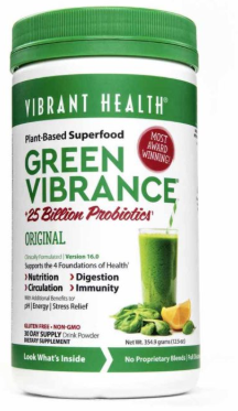 Green Vibrance Powder 30 Servings [Vibrant Health]