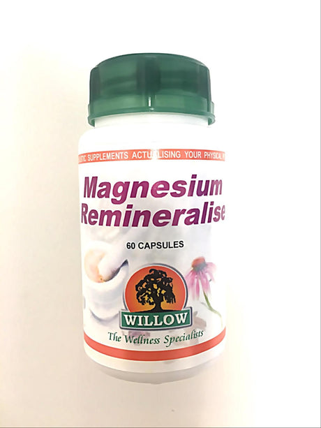 Magnesium Remineralise 60 Capsules [Willow]