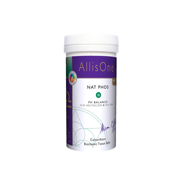 Nat Phos No.10 60 caps [AllisOne Tissue Salts]