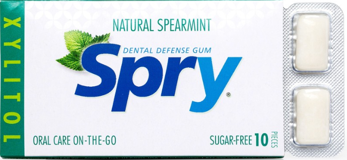Spry Sugar Free Chewing Gum [Spry]