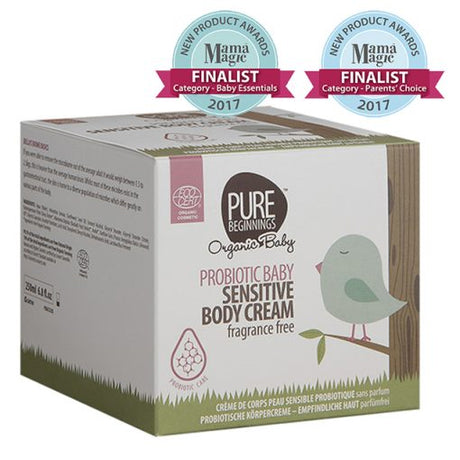 Probiotic Baby Sensitive Body Cream Fragrance Free 250ml [Pure Beginnings]