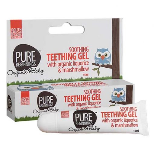 Soothing Teething Gel with Liquorice & Marshmallow 15ml [Pure Beginnings]