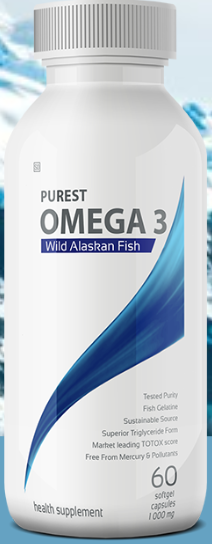 Purest Omega 3 Wild Alaskan Fish 60 Softgels [Coyne Health]