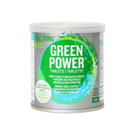 Green Power Tablets 150 Tabs [The Real Thing]