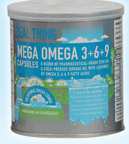 Mega Omega 3+6+9 [The Real Thing]