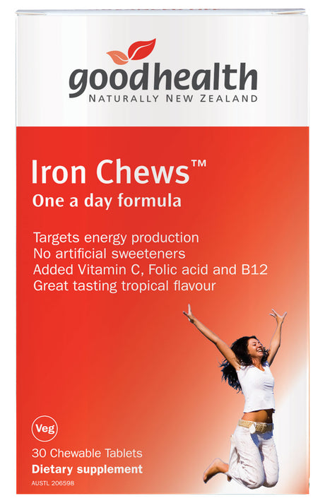 Iron Chews 30chews [Good Health]
