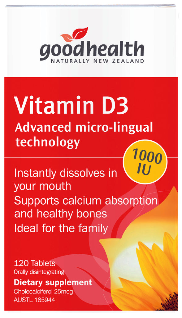 Vitamin D3 [Good Health]