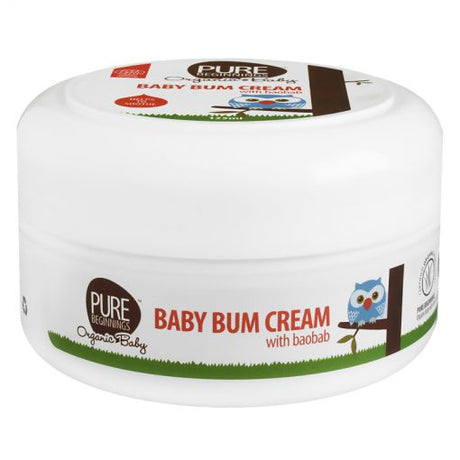 Baby Bum Cream with Organic Baobab 125ml [Pure Beginnings]