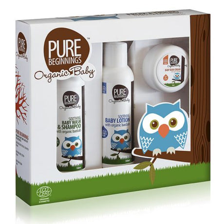 Organic Baby Gift Set [Pure Beginnings]