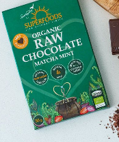 Organic Raw Chocolate Matcha Mint 50g [Superfoods]