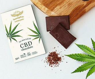 Chocolate -CBD  Bar 50g [Superfoods]